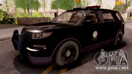 Vapid Scout Los Santos Police para GTA San Andreas