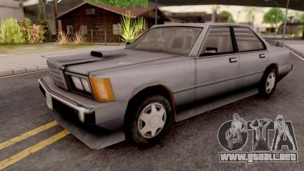 Sentinel XS from GTA VC Grey para GTA San Andreas