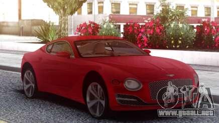 Bentley Exp 10 Speed para GTA San Andreas