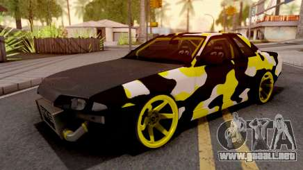 Nissan Skyline R32 Drift Camo v3 para GTA San Andreas