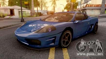 Turismo GTA IV para GTA San Andreas