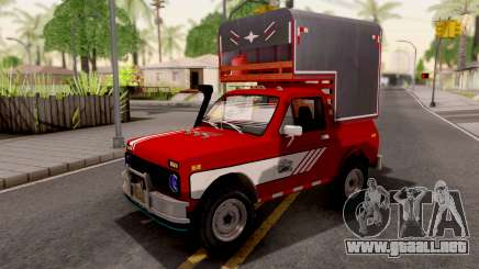 Lada Niva Pick-Up para GTA San Andreas