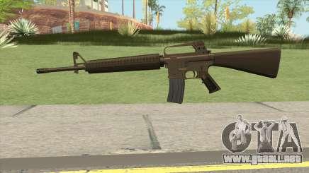 M16A2 Full Desert Camo (Stock Mag) para GTA San Andreas