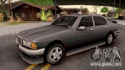 Mafia Sentinel from GTA 3 para GTA San Andreas