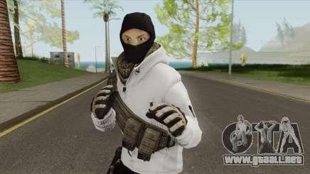 Arctic Leet Skin V2 (Counter-Strike Online 2) para GTA San Andreas