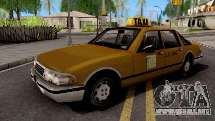 Taxi GTA III Xbox para GTA San Andreas