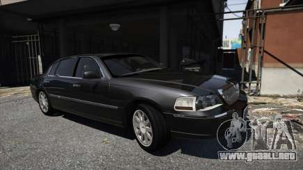 Lincoln TownCar 2010 v1 para GTA 5