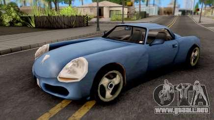 Stinger GTA III Xbox para GTA San Andreas