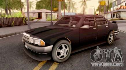 Mafia Sentinel GTA III Xbox para GTA San Andreas