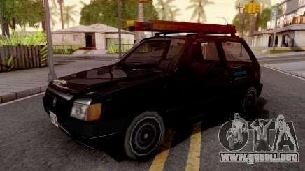 Fiat Uno Mille Fire v2 para GTA San Andreas