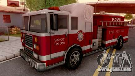 Firetruck from GTA VC para GTA San Andreas