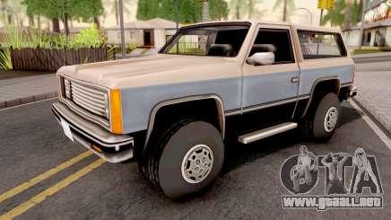 Rancher GTA VC Xbox para GTA San Andreas