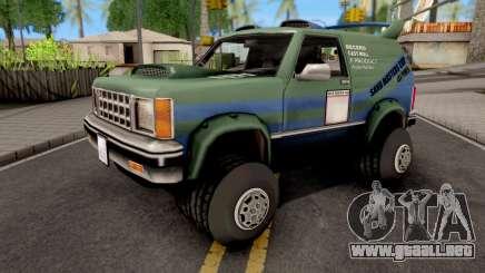 Sandking GTA VC Xbox para GTA San Andreas