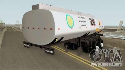 Tank Trailer V2 (Policia Militar) para GTA San Andreas