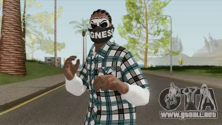Black Guy Skin V2 para GTA San Andreas