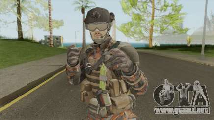 Merc V2 (Call of Duty: Black Ops II) para GTA San Andreas