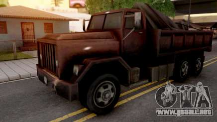 Flatbed from GTA VC para GTA San Andreas