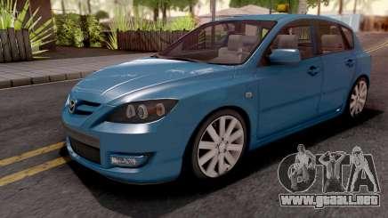 Mazda Speed 3 Blue para GTA San Andreas