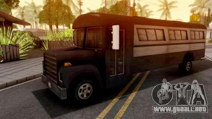 Bus GTA III Xbox para GTA San Andreas