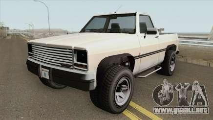 Declasse Rancher GTA IV para GTA San Andreas