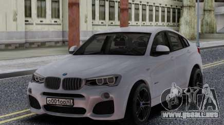 BMW X4 para GTA San Andreas