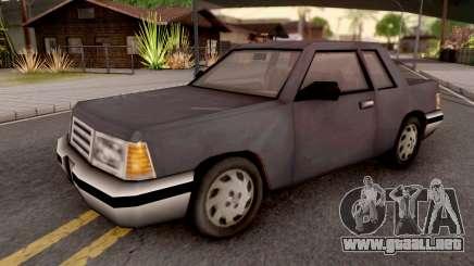 Manana from GTA 3 para GTA San Andreas