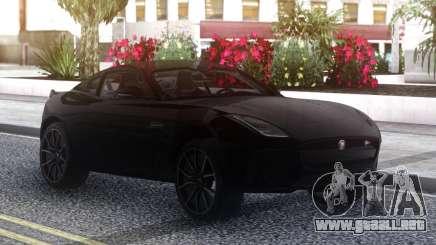 Jaguar FType SVR Coupe 2019 para GTA San Andreas