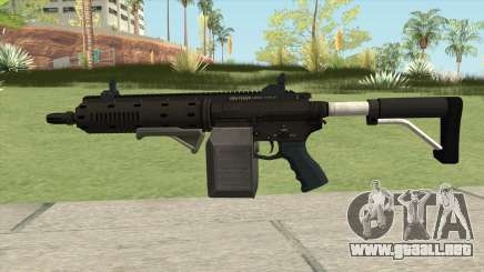 Carbine Rifle GTA V Grip (Box Clip) para GTA San Andreas