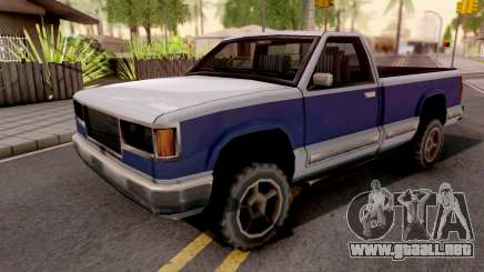 Yosemite Long Bed v2 para GTA San Andreas