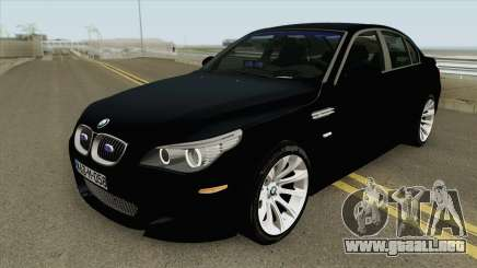 BMW 530 Policija BiH (PRESRETAC) para GTA San Andreas
