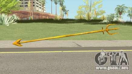 Aquaman Trident para GTA San Andreas