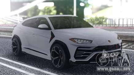 Lamborghini Urus 2019 White para GTA San Andreas