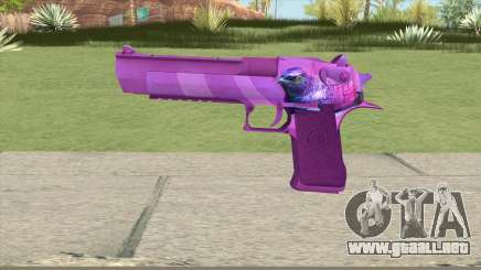 Desert Eagle (Purple) para GTA San Andreas