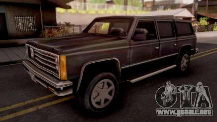 FBI Rancher GTA VC Xbox para GTA San Andreas