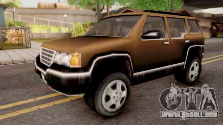 Landstalker from GTA 3 Brown para GTA San Andreas