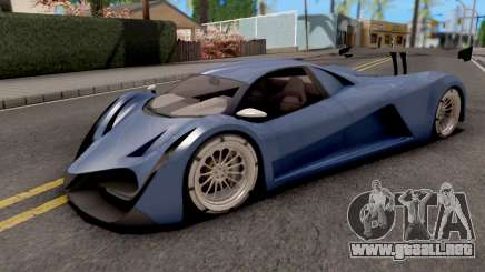 Devel Sixteen Blue para GTA San Andreas