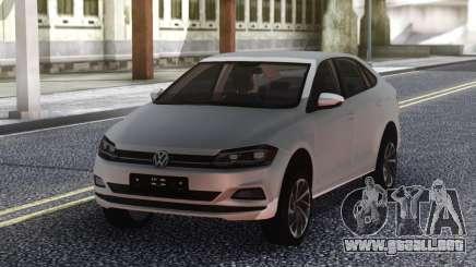 Volkswagen Polo 2019 Stock para GTA San Andreas