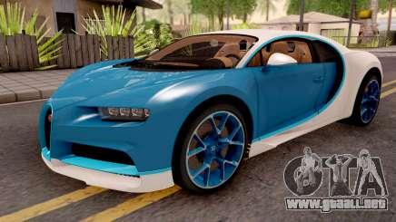 Bugatti Chiron Blue para GTA San Andreas