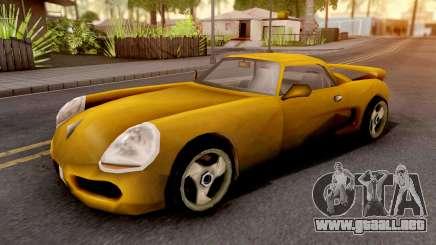 Yakuza Stinger GTA III Xbox para GTA San Andreas
