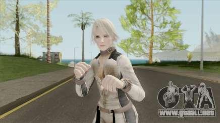 Christie Battlesuit Reskinned (Breast Physics) para GTA San Andreas