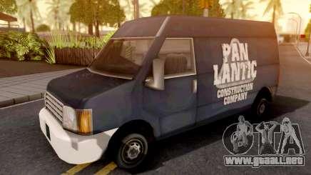 Panlantic GTA III Xbox para GTA San Andreas