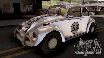 Volkswagen Beetle Sport para GTA San Andreas