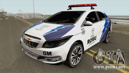Chevrolet Onix (Guarda Municipal) para GTA San Andreas