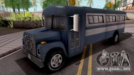 Bus GTA VC Xbox para GTA San Andreas