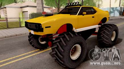 AMC Javelin Monster Truck 1971 para GTA San Andreas