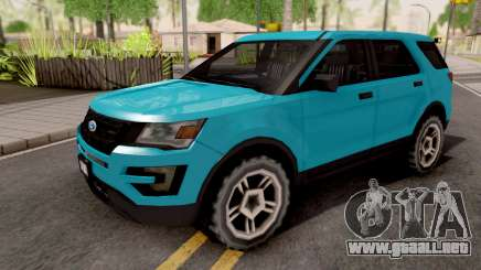 Ford Explorer 2016 para GTA San Andreas