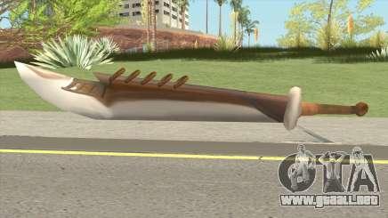 Warrior Yongsin Sword para GTA San Andreas