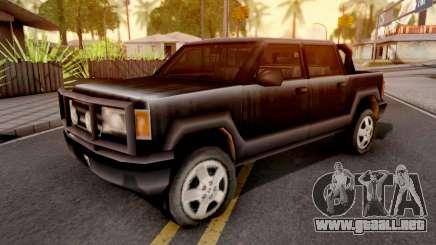 Cartel Cruiser GTA III para GTA San Andreas