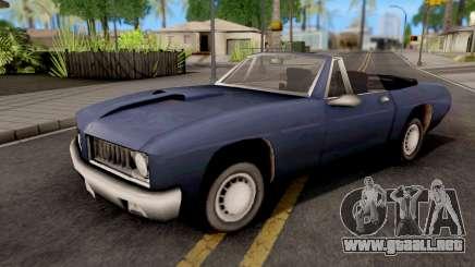 Stallion GTA III Xbox para GTA San Andreas
