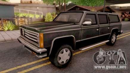 FBI Rancher from GTA VC para GTA San Andreas